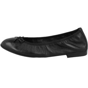 Tamaris Damen Ballerinas Slipper Leder 1-22116-26, Größe:38 EU, Farbe:Schwarz