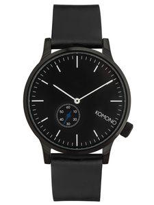 Komono KOM-W3000 Winston Subs Armbanduhr Schwarz