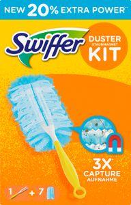 Swiffer Staubmagnet Kit Duster Staubfang Technologie  mit 7 Tüchern