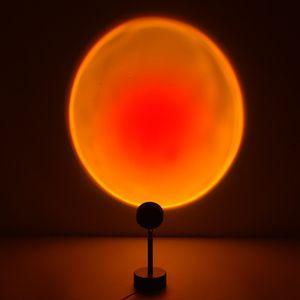 Nachtlichter,Sunset Regenbogen Projektion,Schreibtisch Lampe Wohnzimmer Schlafzimmer,Nacht Atmosphäre Wand Dekoration,Led Nacht Licht