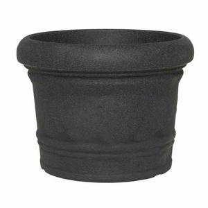 Gefäß Norah 40 schwarz-granit