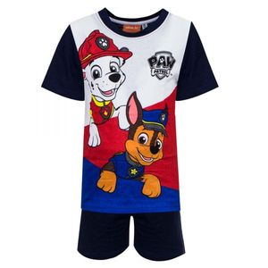 Paw Patrol Jungen Shorty Pyjama, blau, Gr. 98-128 Größe - 104
