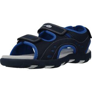 GEOX - Kinder klassische Sandale Blau Schuhe, Größe:30