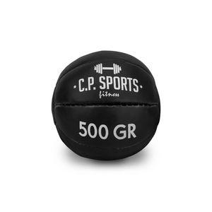 Medizinball Schwarz 0,5kg