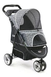 Innopet ® Modell Allure - Design: Onyx - IPS-034/OX Hundebuggy Hundewagen Pet Stroller
