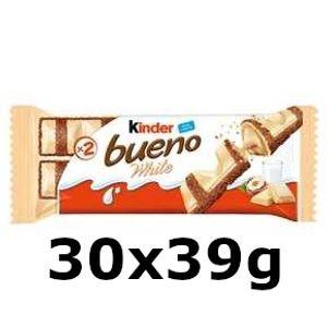 GroßhandelPL Schokoriegel Kinder Bueno White Ferrero Bar 30x39g