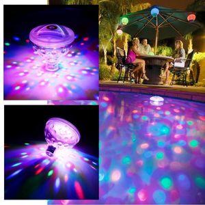 4x LED Poolbeleuchtung RGB Unterwasser Poollicht Poollampe Teichbeleuchtung