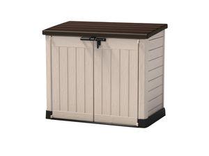 Keter Universalbox Store It Out MAX ca. H 125 x B 146 x T 82 cm, beige-braun