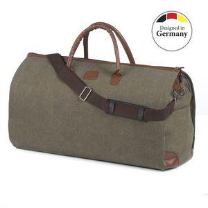 Snugs Weekender Reisetasche fürs Wochenende mit Anti-Knitter-Schutz für Anzüge & Kleider