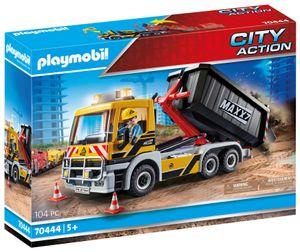 PLAYMOBIL City Action 70444 LKW mit Wechselaufbau