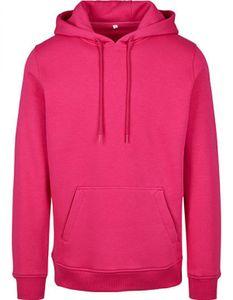 Heavy Hoody - Farbe: Hibiskus Pink - Größe: L