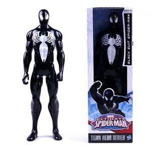 29cm Marvel The Avengers Superheld ActionFigur Figuren Spielzeug Black Spider-Man
