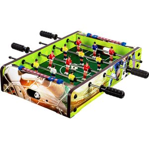 GamesPlanet® Mini Kicker DUNDEE 51x31x8cm, Soccer Dekor