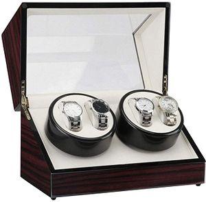 4+0 Uhrenbeweger Automatik   Uhrenbox Winder Uhrenkasten Collector Box Uhrendreher Aufwahrungbox Als Geschenk Herren Sandelholz