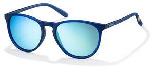 Polaroid sonnenbrille 6003/N UJO/JY uni blau mit Spiegelscheibe