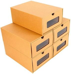 10× Schuhaufbewahrung Männergroß Schuhkarton Schuhbox Stapelbox Schublade Pappe Schuhkasten Box Schuhregal Schuhschrank