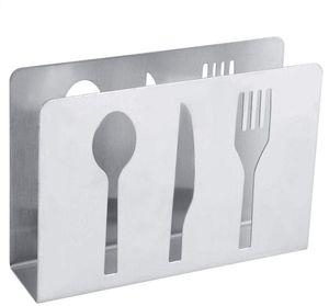 Edelstahl Serviettenhalter Moderne Serviettenhalter Rack Tisch Nachbildung für Home Kitchen MEHRWEG VERPACKUNG