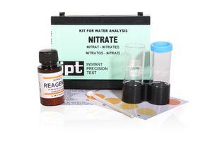 Nitrat Wassertest Nitrat im Brunnenwasser oder Aquariumwasser messen Nitratwert Test Kit von Aquintos