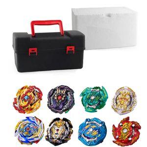 Top Beyblade Burst Bey Klinge Spielzeug Metall Funsion Bayblade Set Lagerung Box Mit Griff Launcher Kunststoff Box Spielzeug Für Kinder