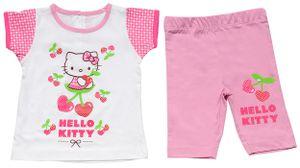 Hello Kitty bekleidungsset Beach baby baumwolle rosa mt 24 monate
