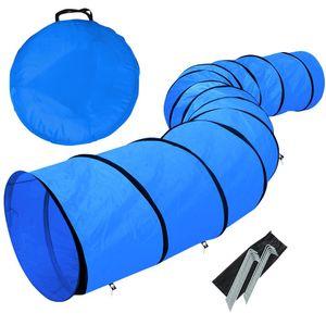 Yaheetech Training Tunnel Hundetunnel 546 x 60 cm Hundesport Training Reifen Hunde Agility Set