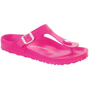 BIRKENSTOCK Gizeh Damen Zehenstegsandalen Pink Schuhe, Größe:38