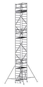 ZARGES Compactmaster 2T - LM-Klappgerüst, ausbaubar Arbeitshöhe 10,45 m