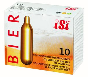 Isi - iSi Bierkapseln CO2 16 g - 10er Packung
