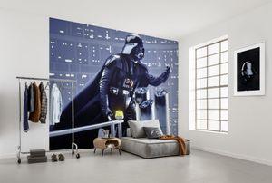 """Komar Vlies Fototapete """"Star Wars Classic Vader Join the Dark Side"""" - Größe: 300 x 250 cm (Breite x Höhe), 6 Bahnen"""