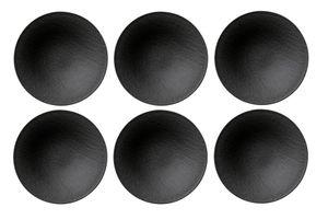Villeroy & Boch Manufacture Rock Schale tief 6er Set 6x 10-4239-2701