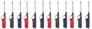 24 x Feuerzeug 27cm Gas XXL Stabfeuerzeug lang nachfüllbar Gasfeuerzeug handlich