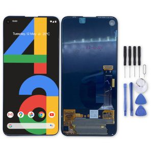 Für Google Pixel 4a Display Full OLED LCD Einheit Touch Ersatzteil Reparatur Schwarz Neu
