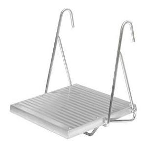 Universal-Leitertritt klappbar. Länge 0.25 m. Breite 0.26 m