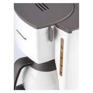 Korona 10410 Thermo-Kaffeeautomat creme / braun