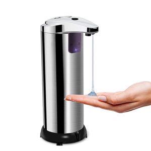 Sensor Berührungslose Seifenspender Edelstahl Infrarot Sensor Handdesinfektionsmittel Seifenspender