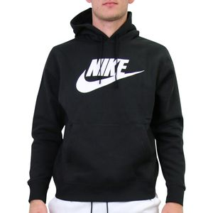 Nike Sportswear Club Fleece Hoodie Herren Schwarz (BV2973 010) Größe: M
