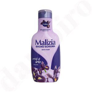 MALIZIA Badeschaum Irisblüten 1000 ml relaxing