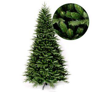 Künstlicher Wohaga Weihnachtsbaum 'Premium' 150/180/210cm künstlicher Tannenbaum inkl. Baumständer Kunststoff/Metall Grün, Größe:180cm