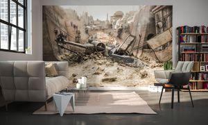 "Komar Digitaldruck Vliestapete ""Star Wars X-Wing"", bunt, 400 x 250 cm"