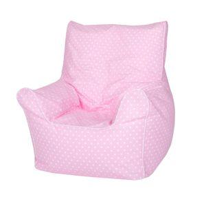 "Knorrrtoys Kindersitzsack Junior - ""Pink white dots"""