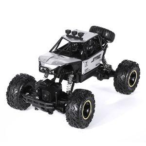 4WD 2,4 GHz RC Auto Monster Truck RC-fahrzeuge Geländewagen Buggy Legierung Car Spielzeug Crawler, Sliber