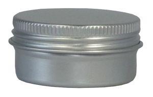 10 Blechdosen Aluminium Bianca 15 ml mit Schraubdeckel