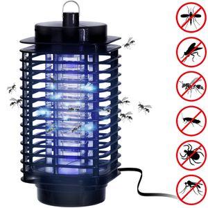 Elektronischer Insektenvernichter - 25m² Wirkungsbereich Fliegenfalle Insektenschutz Mückenschutz Fliegenschutz