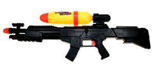 Wasserpistole 'Black Pump Gewehr' 78 cm