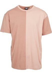 Urban Classics T-Shirt Oversize Harlequin Tee Amber/Lightrose-S