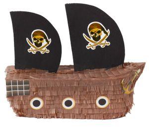Piratenschiff Pinata für JGA, Geburtstag Seefest befüllbar
