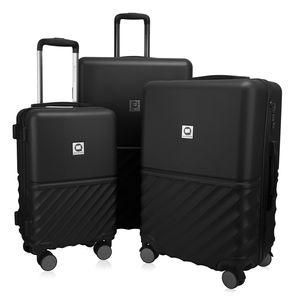 HAUPTSTADTKOFFER - Boxi - Hartschalen-Koffer Koffer-Set 3 x Trolley Rollkoffer Reisekoffer 4 Rollen (S, M & L)