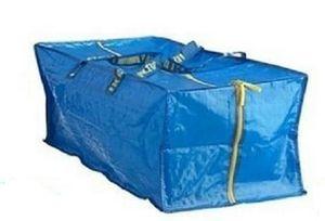 FRAKTA Ikea Trage Tasche Tüte 76l Reißverschluss für Karre Umzug Pfand