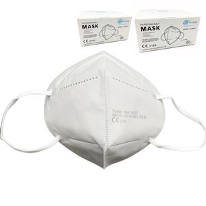 Xujian® 40 Stück einzeln verpackte Atemschutzmaske FFP2 Nase-Mund-Schutz Maske CE  2163
