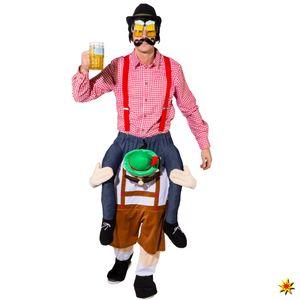 Erwachsenen Kostüm Huckepack Bayer Karneval Fasching 180-195cm